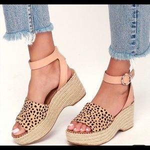 Women's Dolce Vita Leopard espadrille shoes